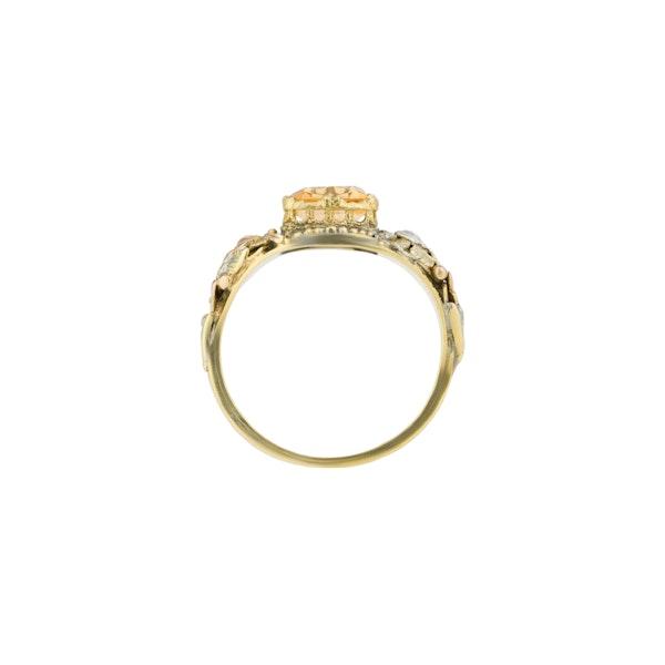 Antique Topaz Ring - image 2