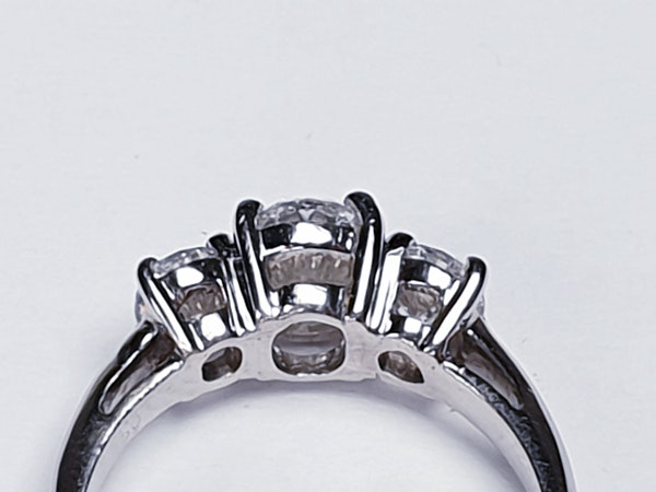 1.01ct D IF Oval Diamond Ring  DBGEMS - image 4