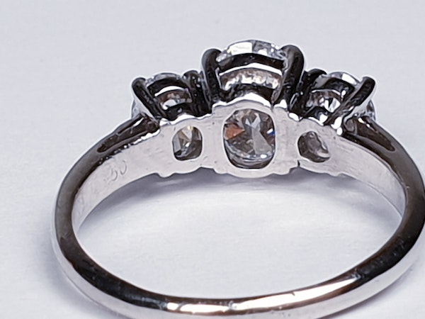 1.01ct D IF Oval Diamond Ring  DBGEMS - image 5