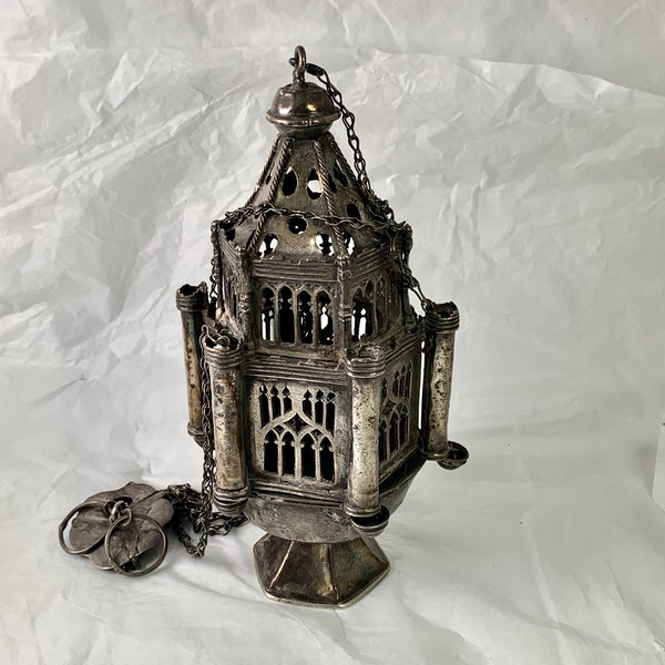 1500 silver thurible from Venice - image 2