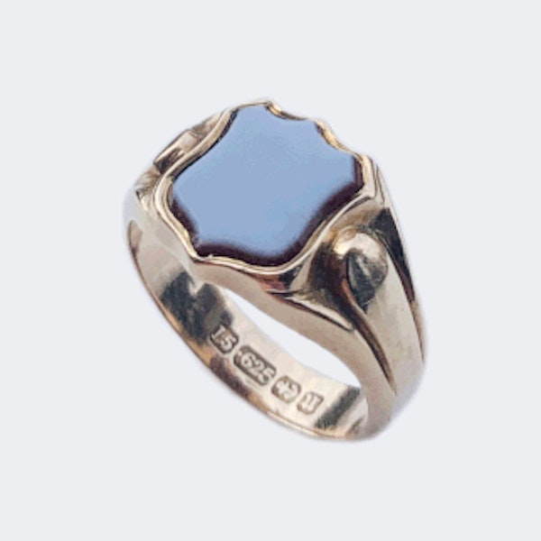 A Victorian Carnelian Signet Ring - image 2