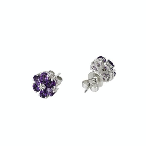 """""""Fioretti"""" amethyst earrings - image 2"""