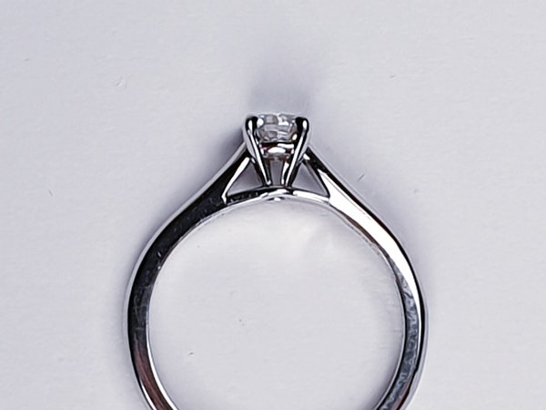 Cartier diamond engagement ring  DBGEMS - image 3