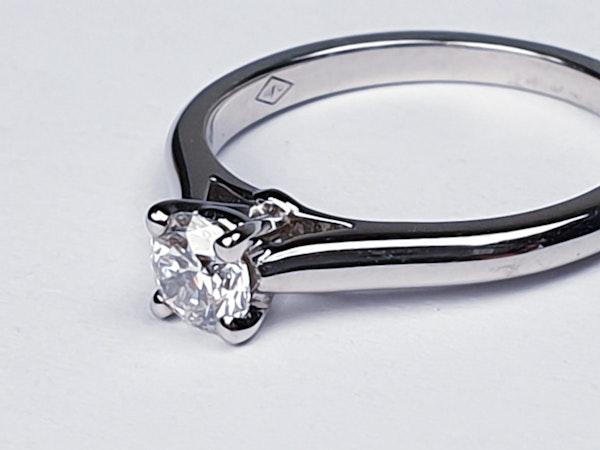 Cartier diamond engagement ring  DBGEMS - image 2