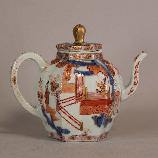 Rare Chinese Imari teapot Kangxi(1622-1722) - image 3