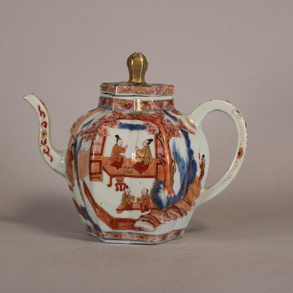 Rare Chinese Imari teapot Kangxi(1622-1722) - image 2