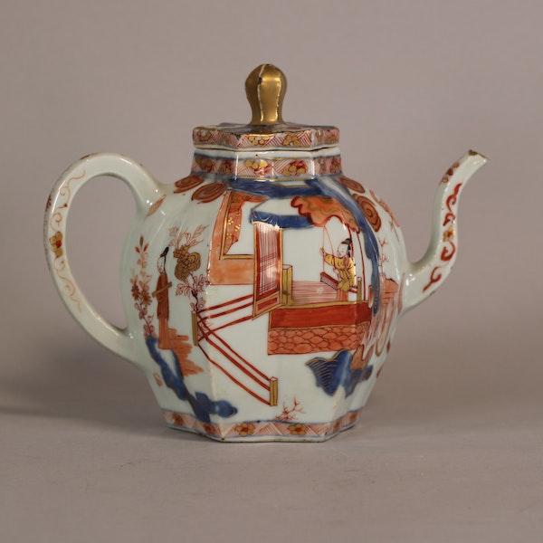 Rare Chinese Imari teapot Kangxi(1622-1722) - image 4