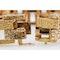 Vintage Bracelet in 18 Karat Gold of Interlocking Brick Design, French circa 1950. - image 4