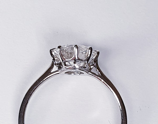 1.68ct Old European Transitional cut diamond engagement Ring  DBGEMS - image 4