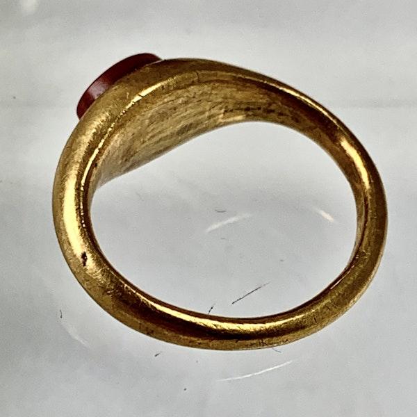 Late Roman intaglio ring - image 3