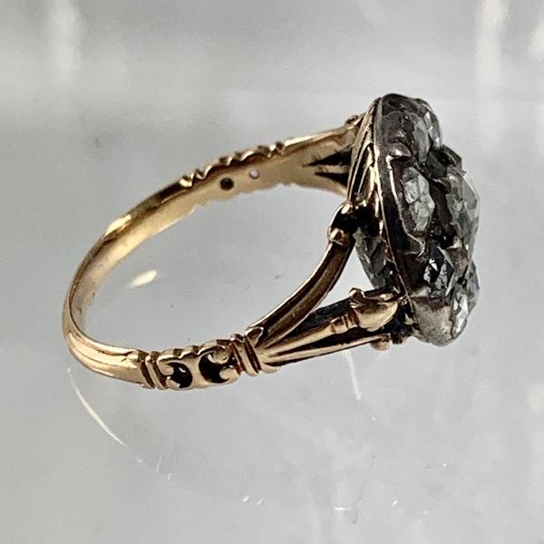 Eighteenth century diamond ring - image 3