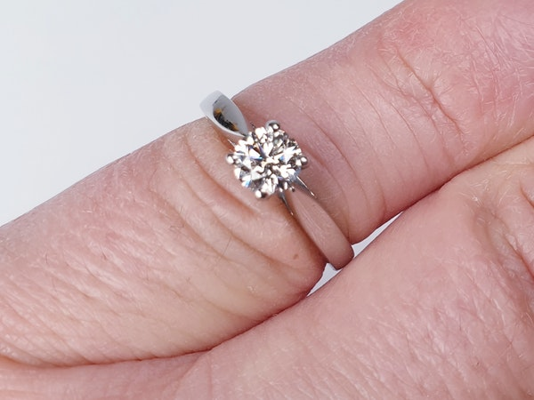 Old Cut Diamond Cluster Ring  DBGEMS - image 3