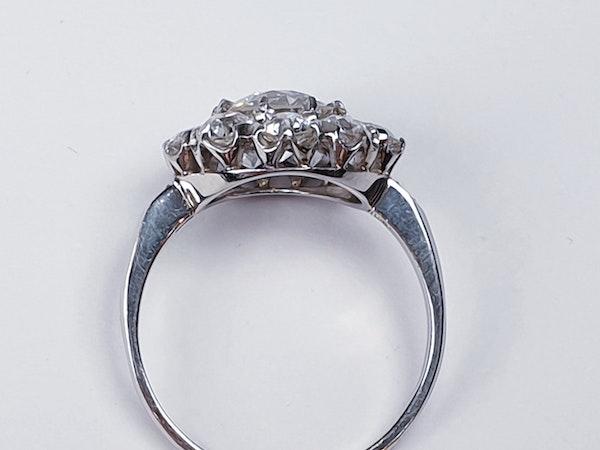 Old Cut Diamond Cluster Ring  DBGEMS - image 5