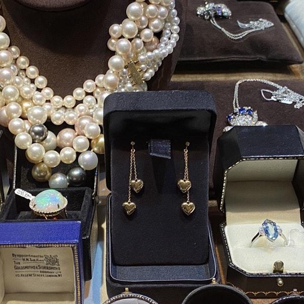 1990's Tiffany & Co 18ct Yellow Gold Earrings,      SHAPIRO & Co - image 7