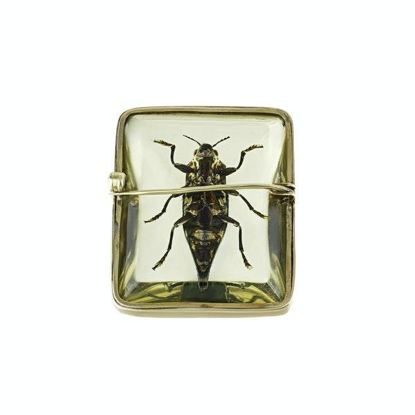 1960's Bug Brooch - image 2