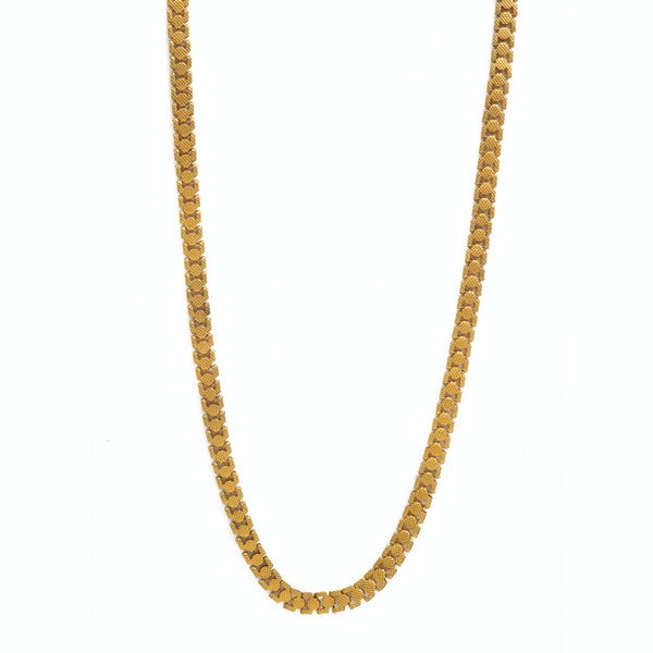 A Georgian Pinchbeck chain - image 3