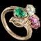 MM6181r Victorian trefoil ring - image 2