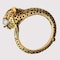 A 1970s Jaguar Bangle with Ruby Eyes and Diamond Whiskers - image 6