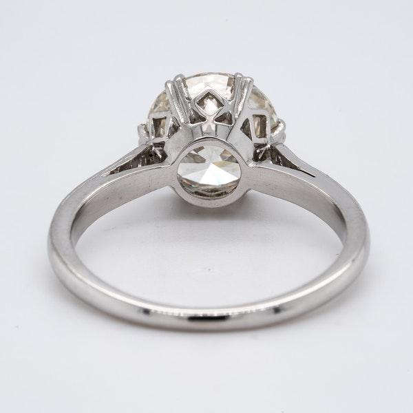 Platinum 2.23ct Diamond  Solitaire Engagement Ring - image 6