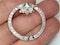 Art Deco Emerald and Diamond Brooch  DBGEMS - image 3