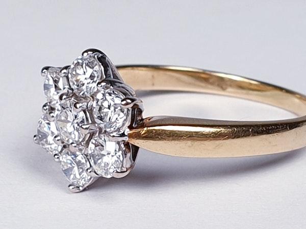 Vintage Diamond Cluster Ring  DBGEMS - image 6