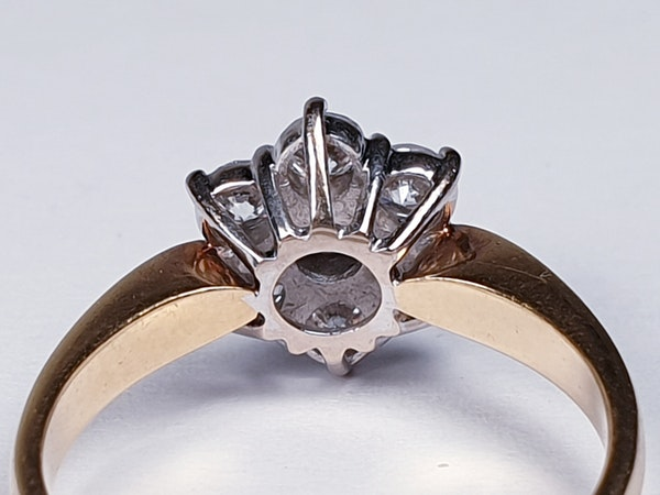 Vintage Diamond Cluster Ring  DBGEMS - image 4