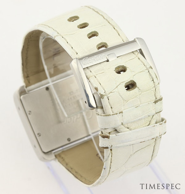 Cartier Tank Divan Automatic, Large Model, Stainless Steel - image 5