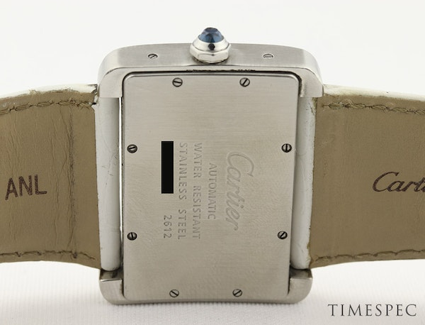 Cartier Tank Divan Automatic, Large Model, Stainless Steel - image 4