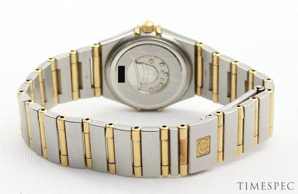 Omega Constellation Ladies MOP Diamond Dial Steel & Gold - image 8