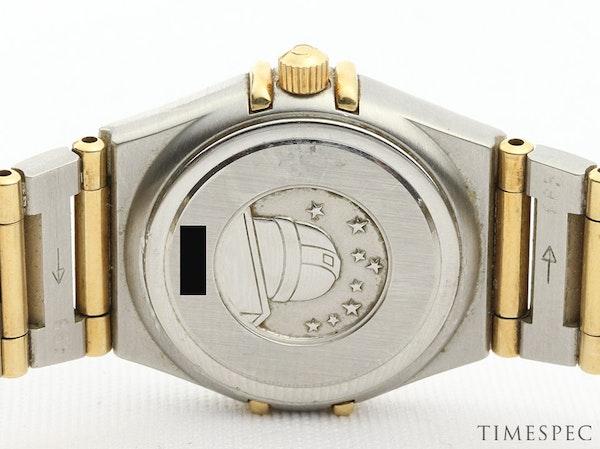 Omega Constellation Ladies MOP Diamond Dial Steel & Gold - image 9