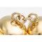Vintage Coffee Bean Cufflinks in 18 Karat Gold and Sapphires, *USA circa 1970. - image 4