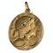 An Art Nouveau Gold and Diamond Pendant - image 3