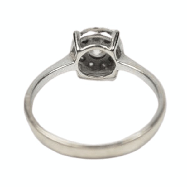 A 1910 Diamond Cluster Ring - image 1
