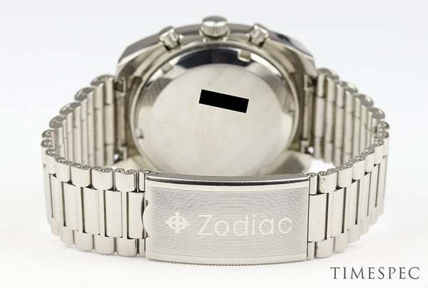 Zodiac Men's Vintage Chronograph Date 1970s Stainless Steel - image 5