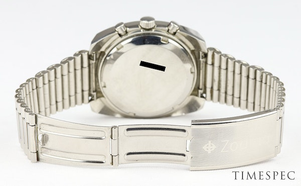 Zodiac Men's Vintage Chronograph Date 1970s Stainless Steel - image 4