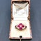 An Antique Ruby and Diamond Ring - image 1