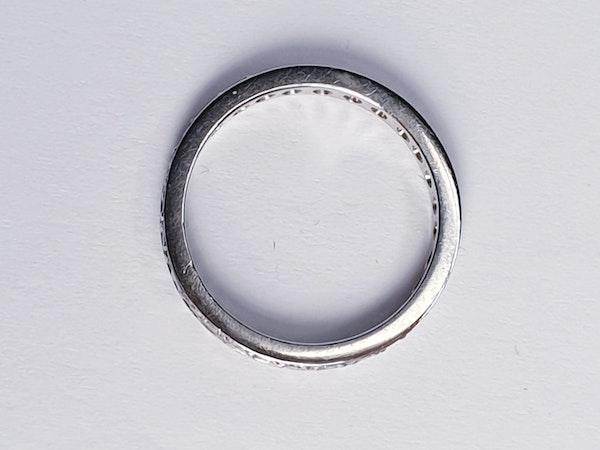 Diamond Full Hoop Eternity Ring  DBGEMS - image 2