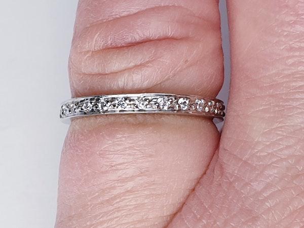 Diamond Full Hoop Eternity Ring  DBGEMS - image 3
