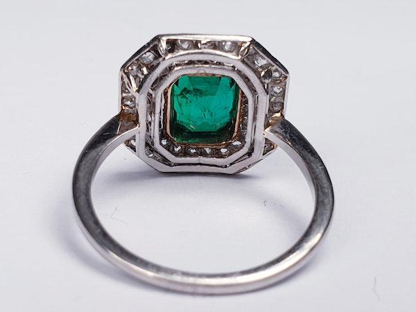 art deco columbian emerald and diamond  DBGEMS - image 5