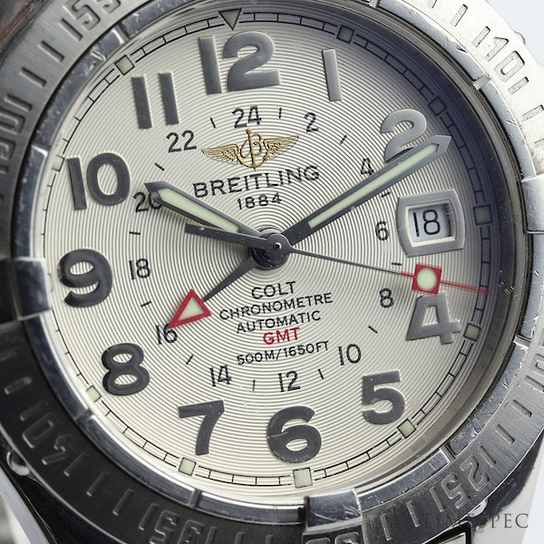 Breitling Colt GMT Men's Automatic With Papers - image 2