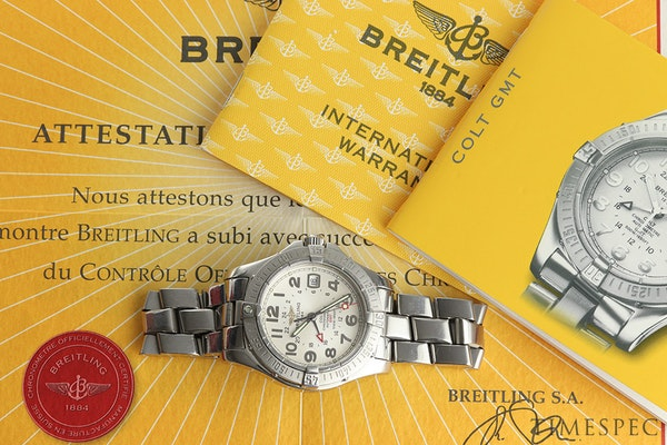Breitling Colt GMT Men's Automatic With Papers - image 8