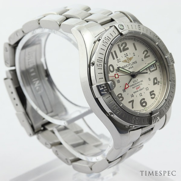 Breitling Colt GMT Men's Automatic With Papers - image 3