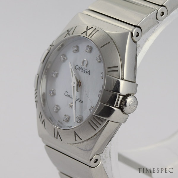 Omega Constellation Ladies Original Diamond Mother Of Pearl Dial - image 3
