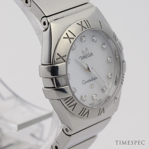 Omega Constellation Ladies Original Diamond Mother Of Pearl Dial - image 2