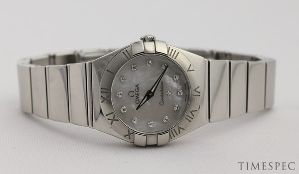 Omega Constellation Ladies Original Diamond Mother Of Pearl Dial - image 5