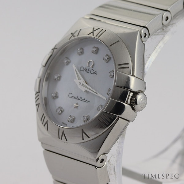 Omega Constellation Ladies Original Diamond Mother Of Pearl Dial - image 4