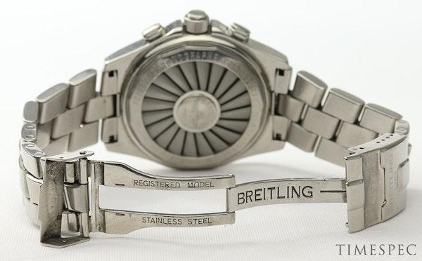 Breitling B1 A68362 Steel & Blue 44mm Mens Watch B-1 - image 6