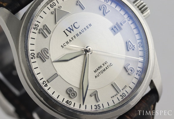 IWC Pilot Mark XVI Stainless Steel Automatic with IWC box - image 2