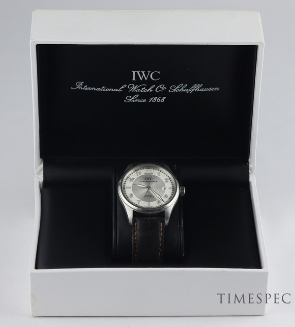 IWC Pilot Mark XVI Stainless Steel Automatic with IWC box - image 7