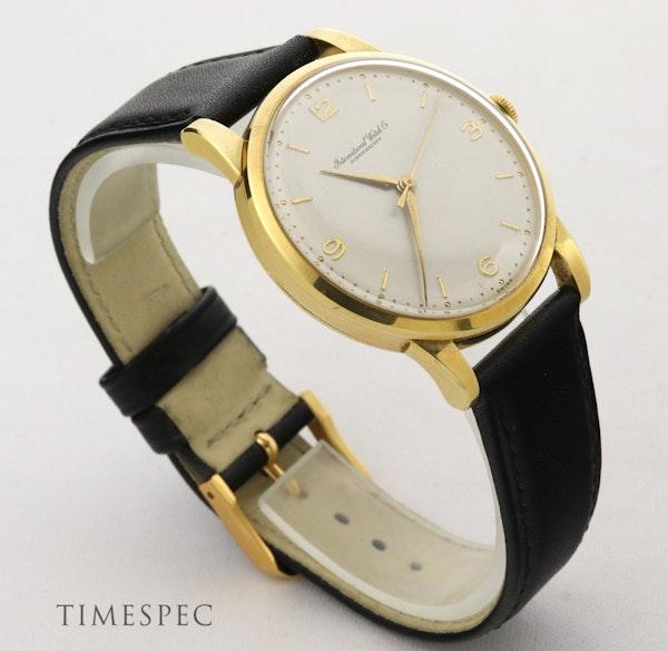 IWC Vintage Men's 1950's Manual Watch 18K Yellow Gold - image 4